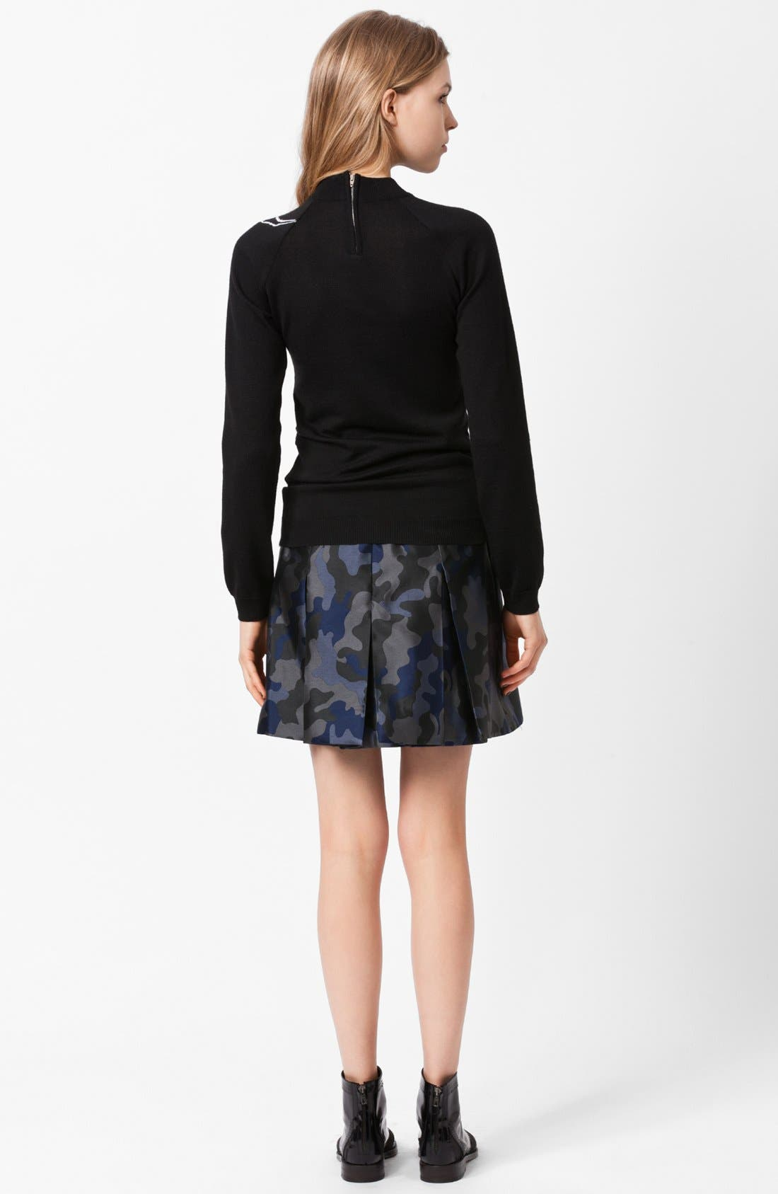 Alternate Image 2  - Christopher Kane Brain Intarsia Knit Sweater