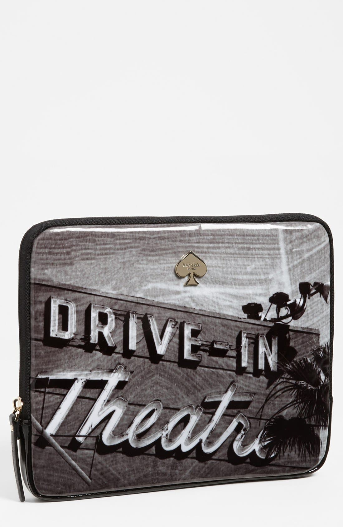Main Image - kate spade new york 'drive-in movie' iPad sleeve