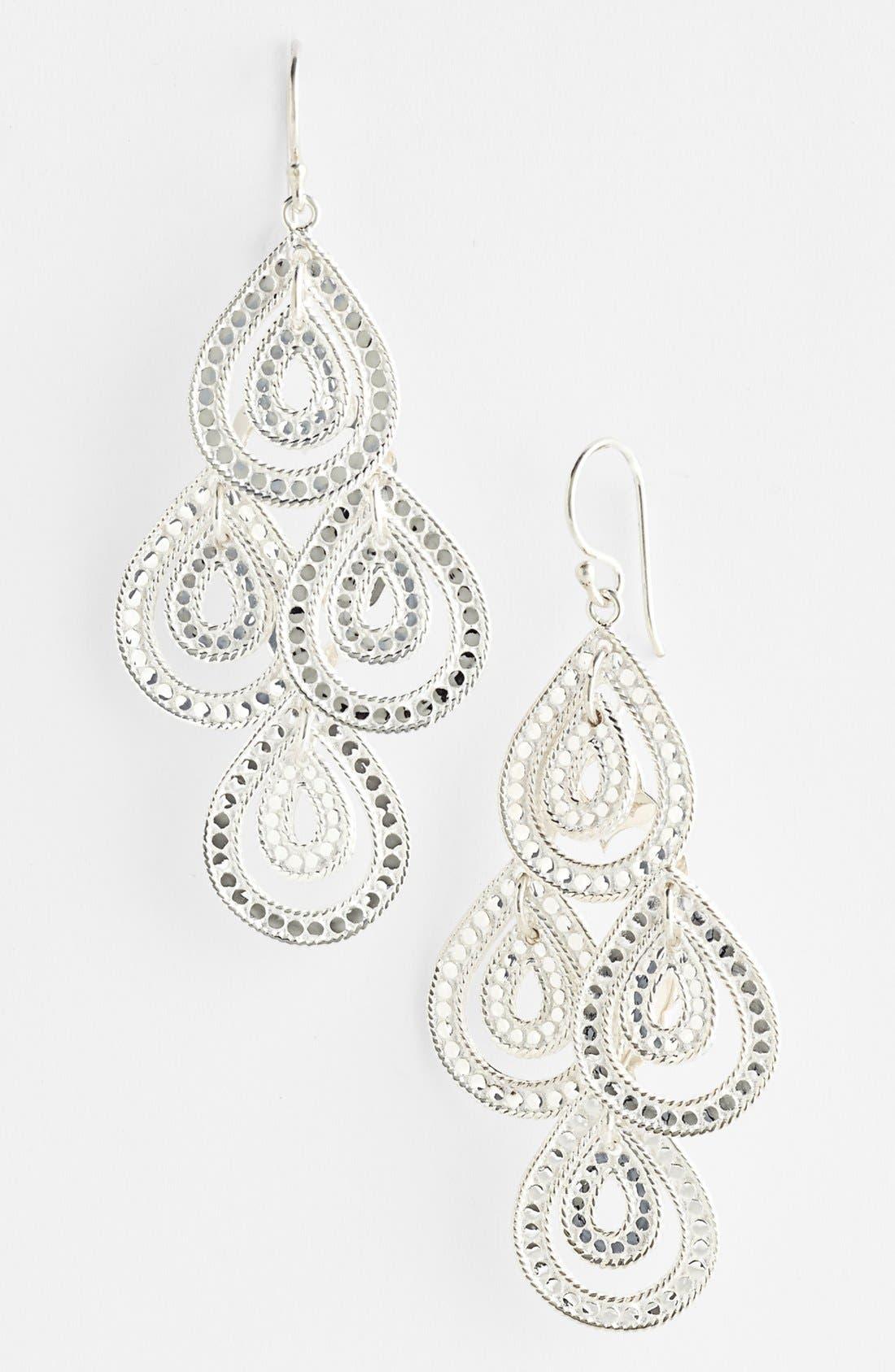 Alternate Image 1 Selected - Anna Beck 'Sulawesi' Double Teardrop Chandelier Earrings