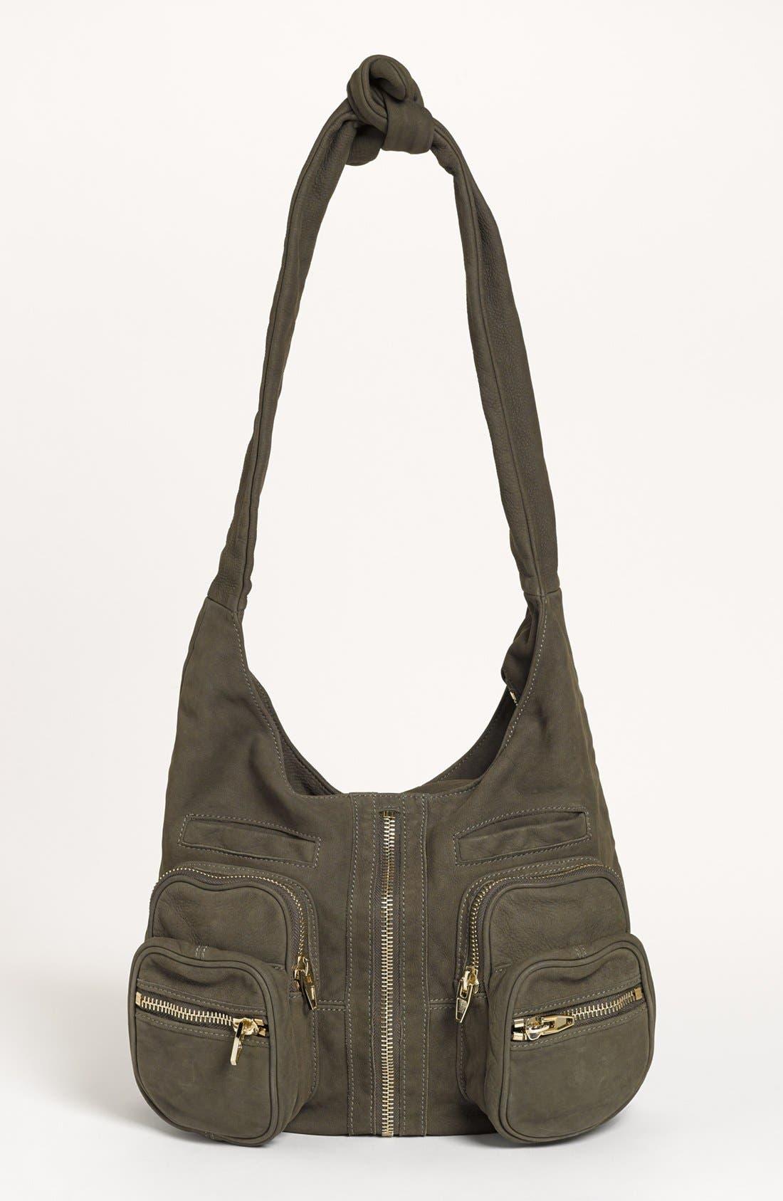 Main Image - Alexander Wang 'Donna - Pale Gold' Nubuck Leather Hobo