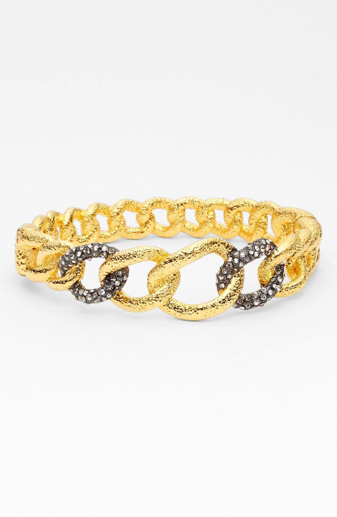Alternate Image 1 Selected - Alexis Bittar 'Elements - Jardin de Papillon' Hinged Chain Link Bracelet