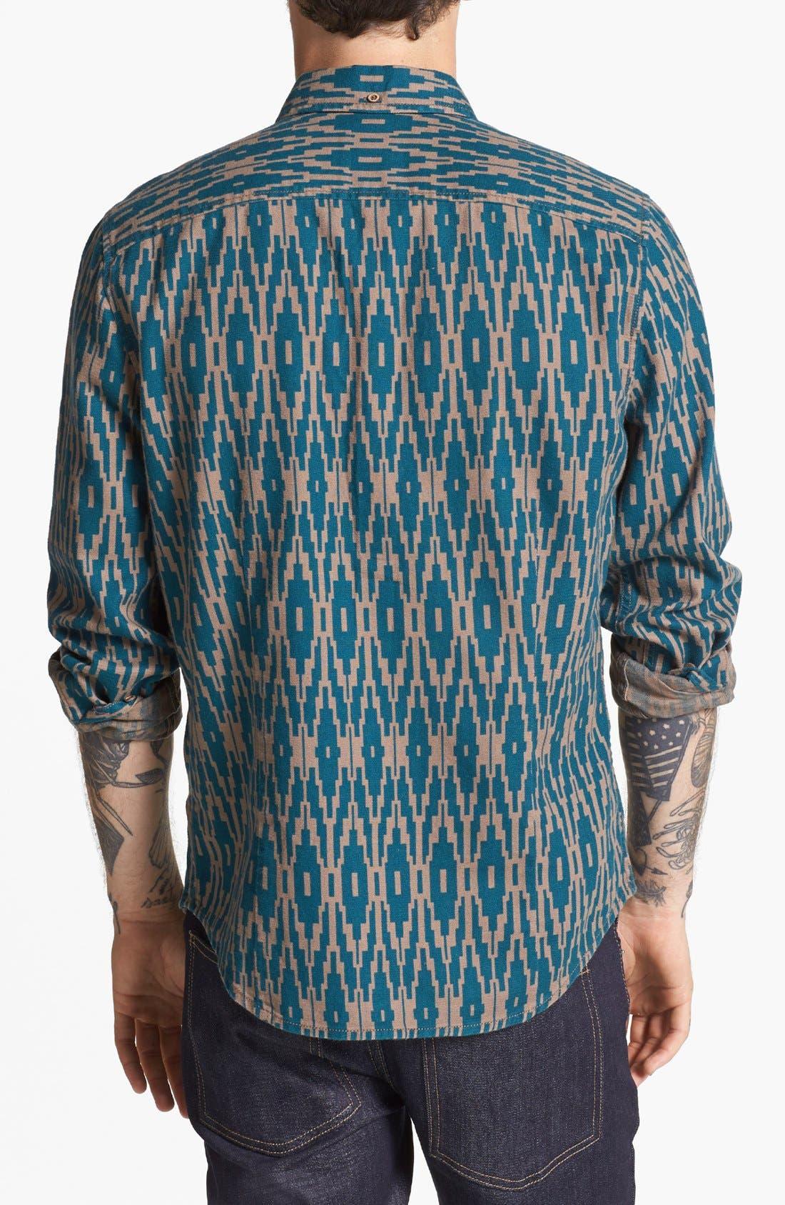 Alternate Image 3  - life/after/denim 'Silverlake' Print Flannel Shirt
