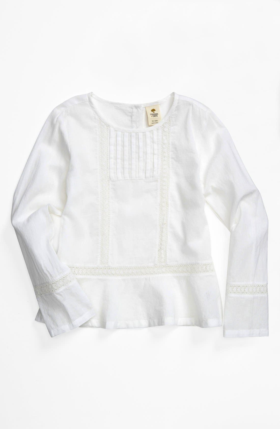 Main Image - Tucker + Tate 'Nicky' Woven Tunic (Little Girls)