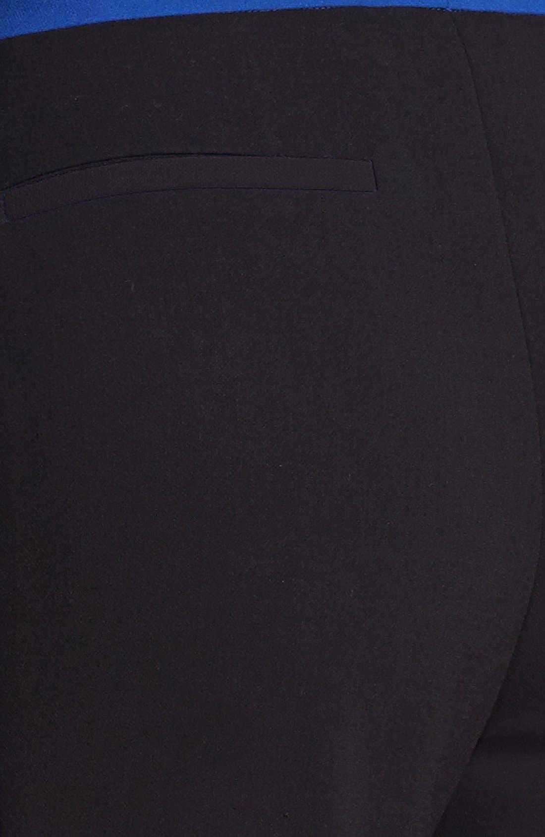 Alternate Image 5  - Halogen® 'Quinn' Tuxedo Skinny Ankle Pants