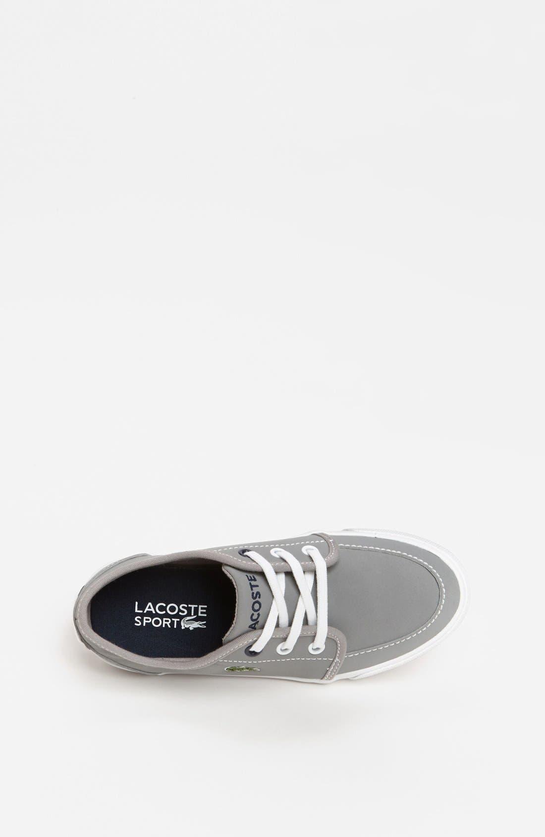 Alternate Image 3  - Lacoste 'Boat DE' Sneaker (Toddler & Little Kid)