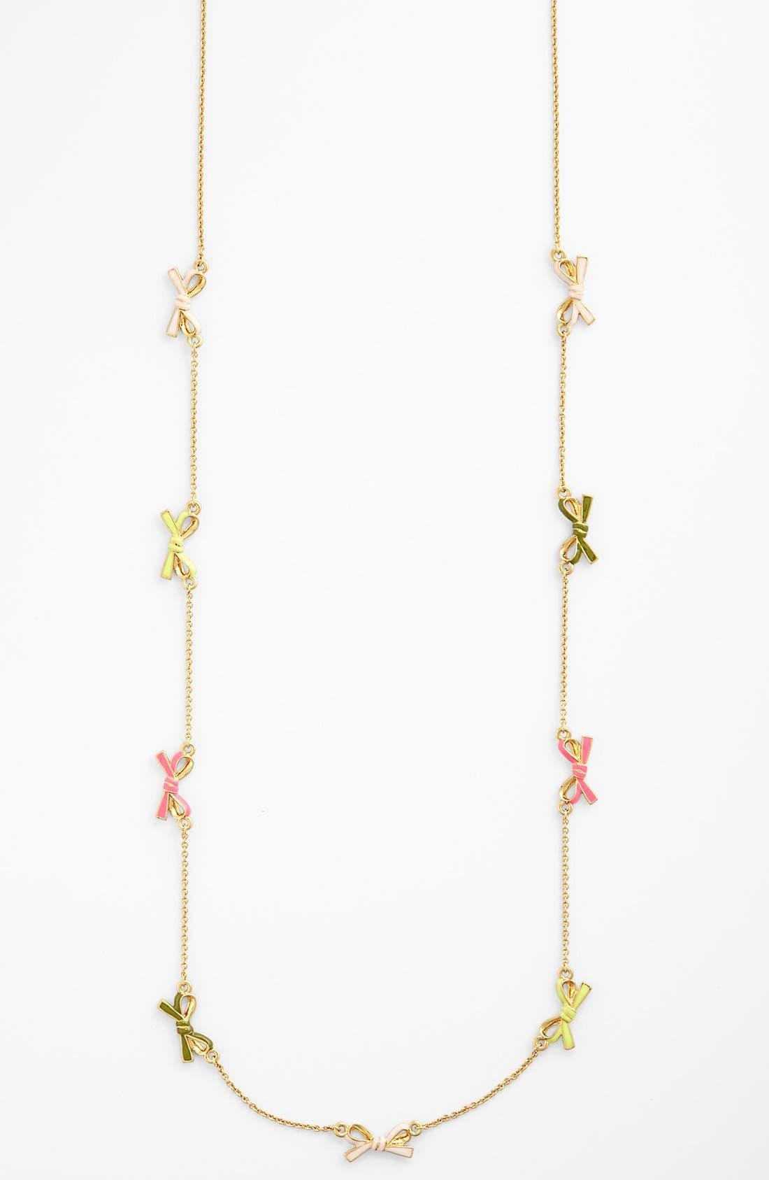 Alternate Image 2  - kate spade new york 'skinny mini' long station necklace