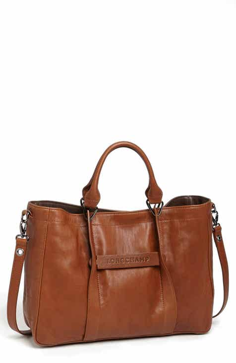 6dedb5940637 Longchamp  3D - Small  Leather Tote