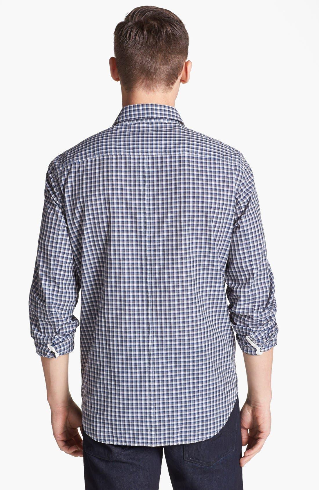 Alternate Image 2  - rag & bone 'Yokohama' Plaid Woven Shirt