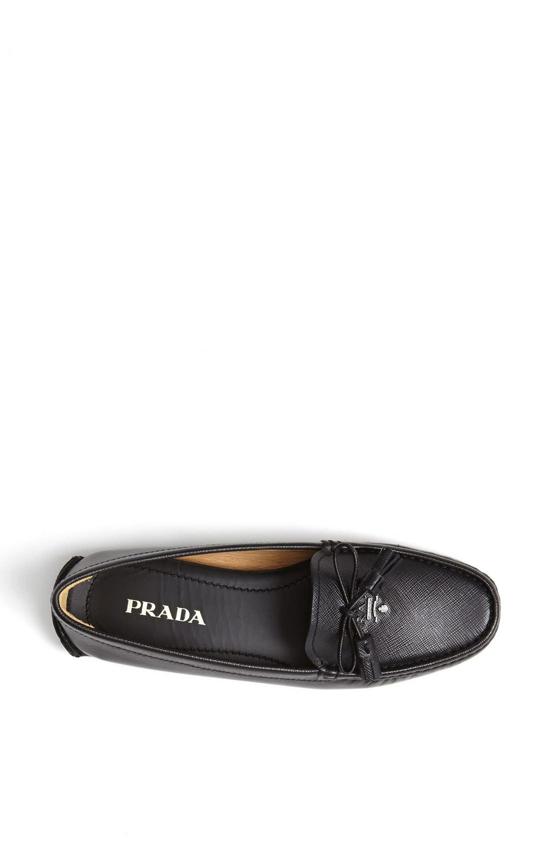 Alternate Image 3  - Prada Tasseled Moccasin Loafer