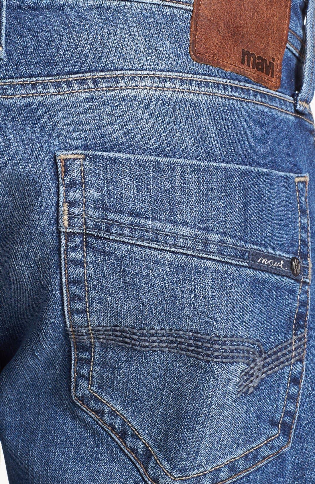 Alternate Image 4  - Mavi Jeans 'Josh' Bootcut Jeans (Mid Cooper)