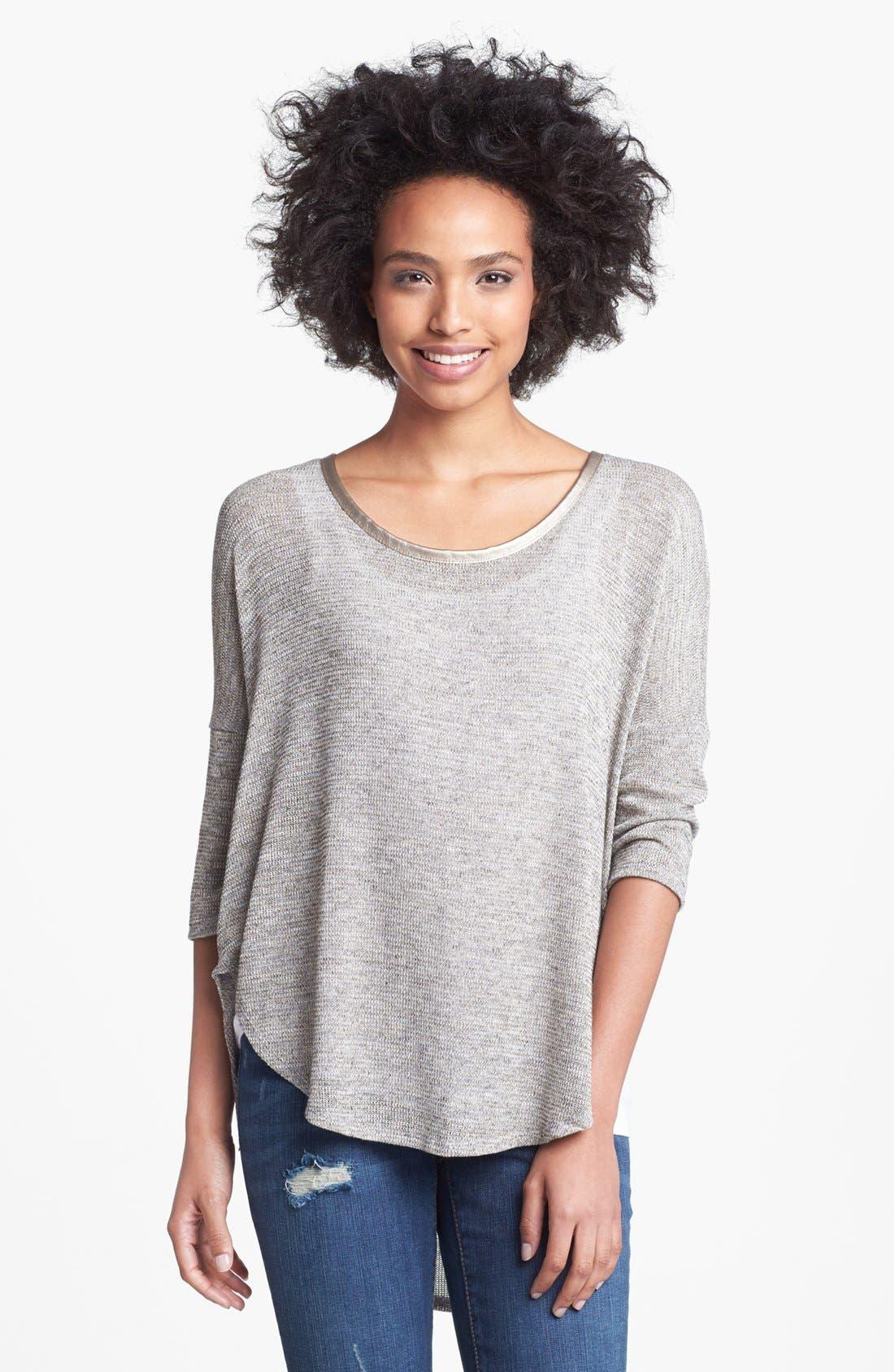 'Melanee' Sweater,                             Main thumbnail 1, color,                             Natural