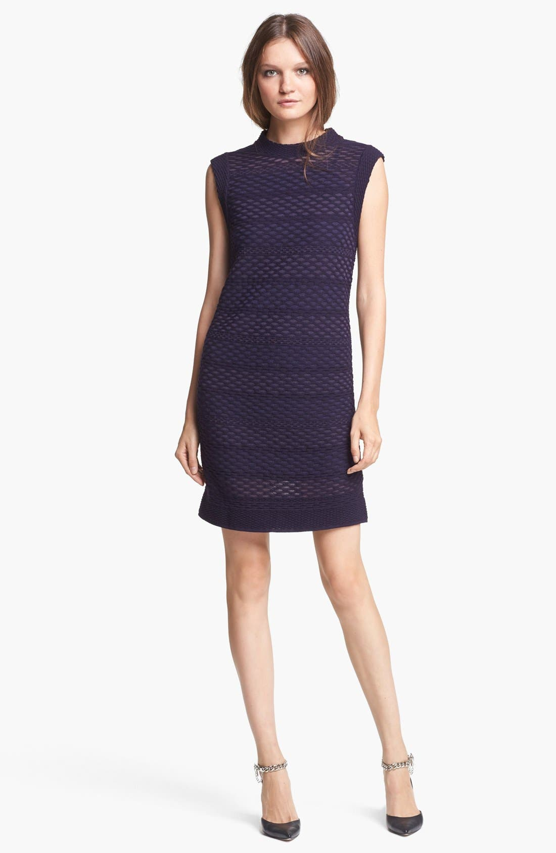 Alternate Image 1 Selected - M Missoni Honeycomb Pattern Knit Dress