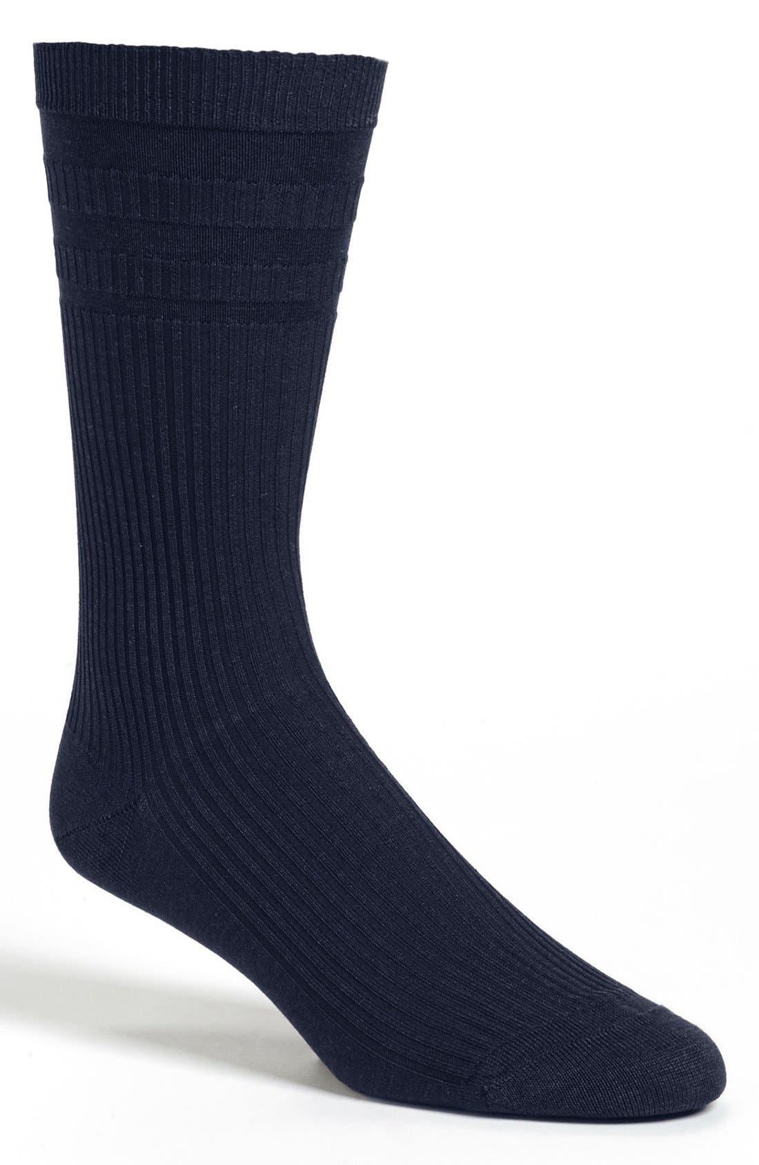 Alternate Image 1 Selected - Pantherella 'Comfort Top' Dress Socks