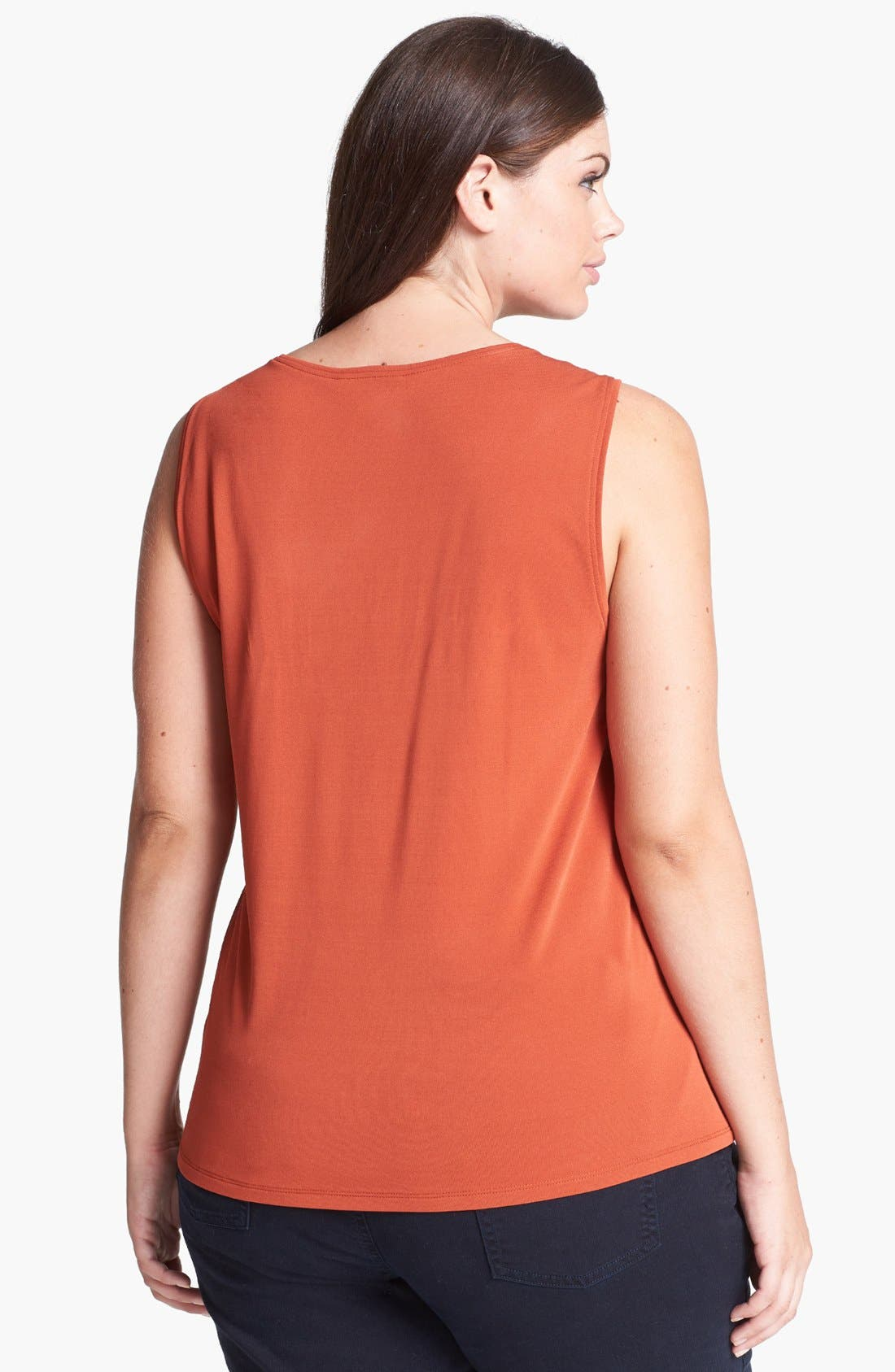 Alternate Image 3  - Eileen Fisher Silk Tank (Plus Size)