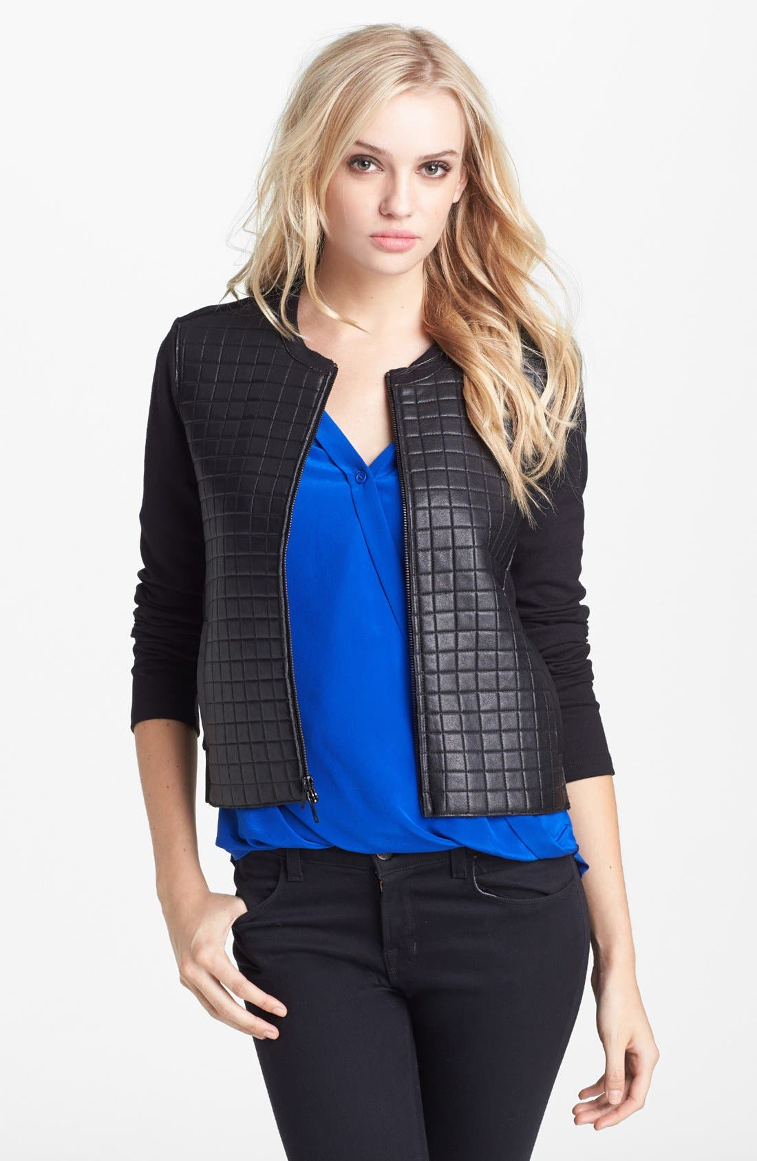 Alternate Image 1 Selected - Bailey 44 'Off the Grid' Faux Leather Jacket