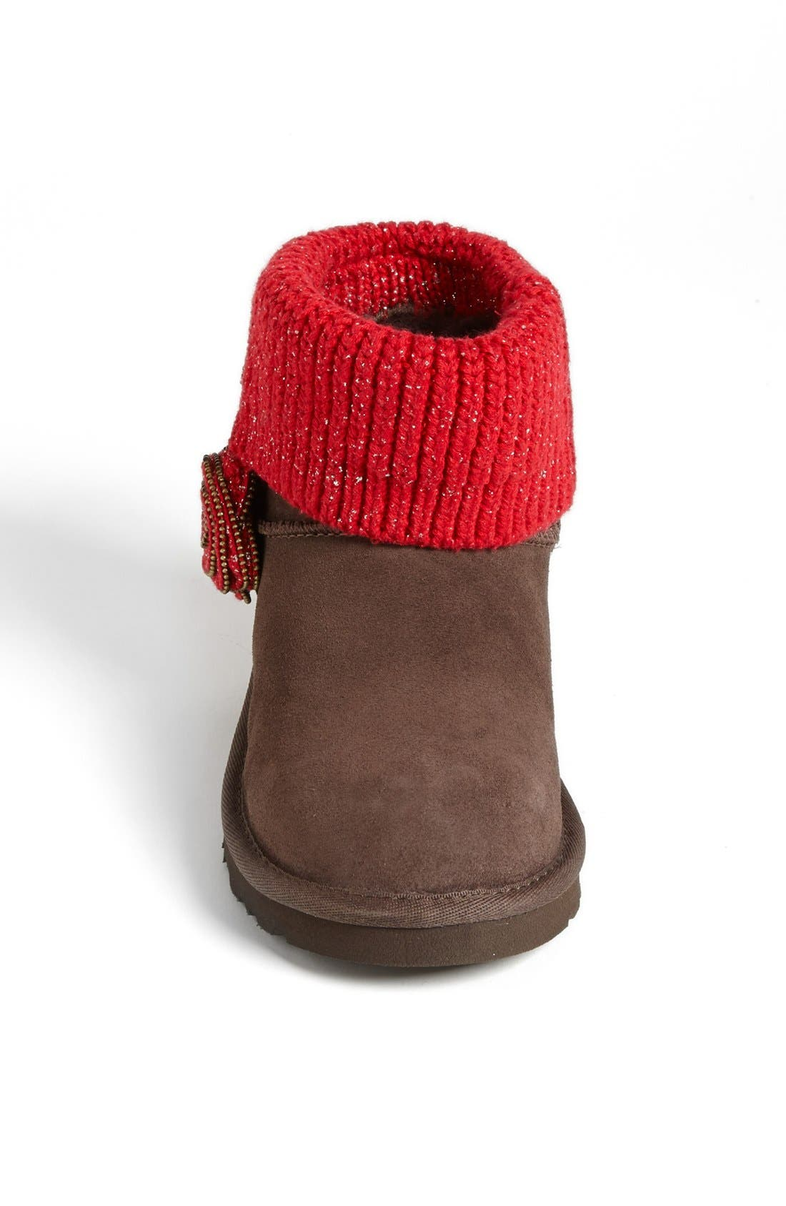 Australia 'Southern Belle' Boot,                             Alternate thumbnail 3, color,                             Chocolate
