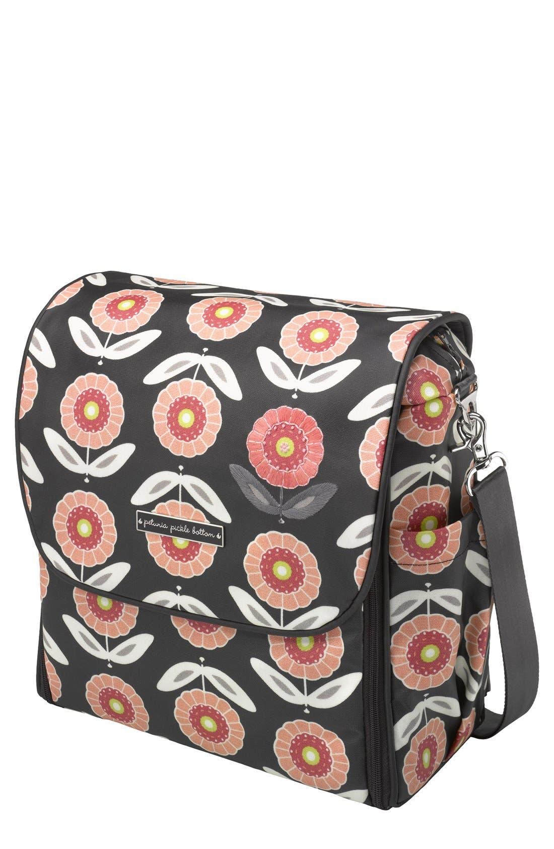 Alternate Image 1 Selected - Petunia Pickle Bottom 'Boxy Glazed' Backpack Diaper Bag