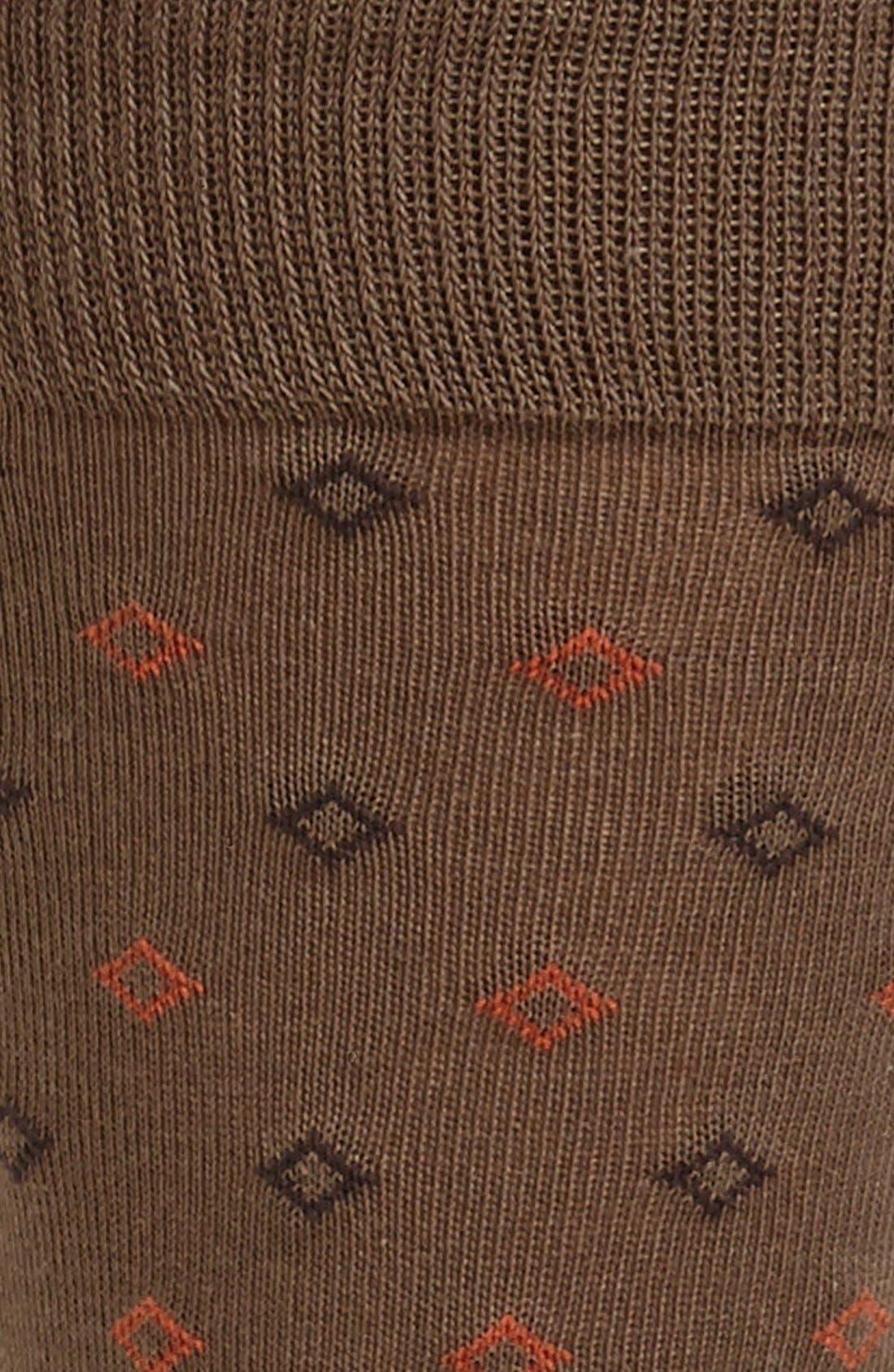 Alternate Image 2  - Cole Haan Diamond Socks