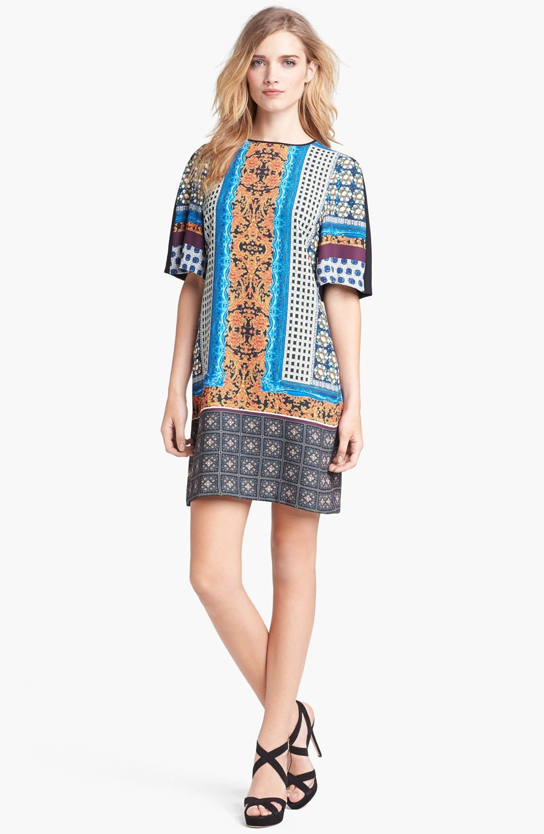 Alternate Image 1 Selected - Clover Canyon Print Shift Dress