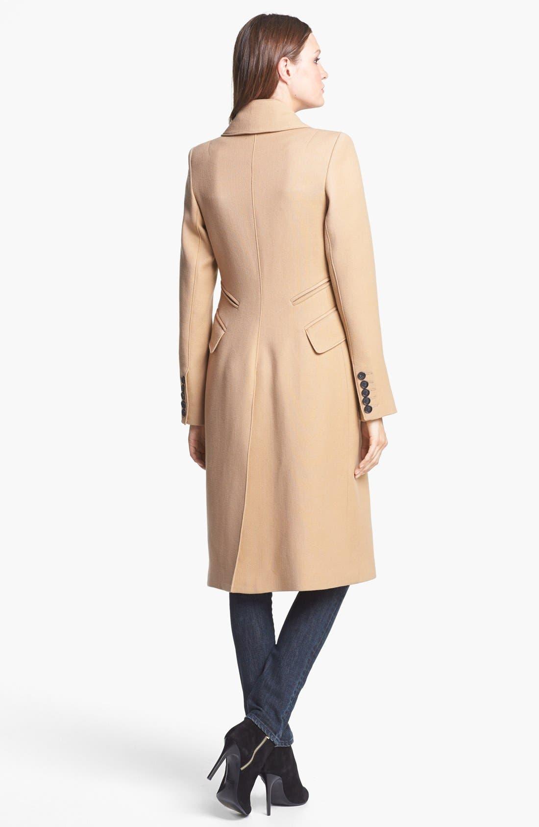 Alternate Image 3  - Smythe Long Double Breasted Wool Coat