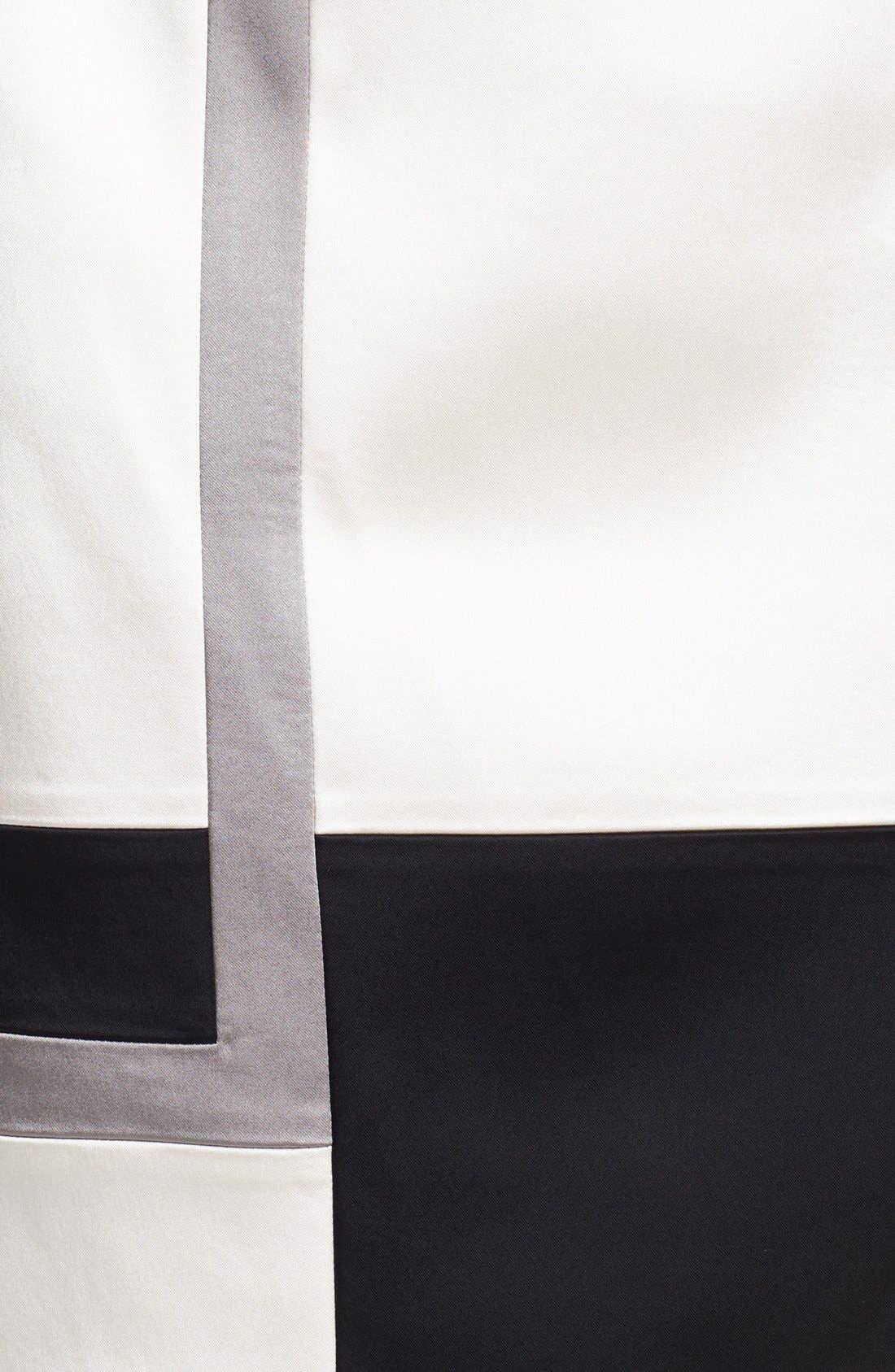 Alternate Image 3  - JAX Colorblock Cap Sleeve Sheath Dress