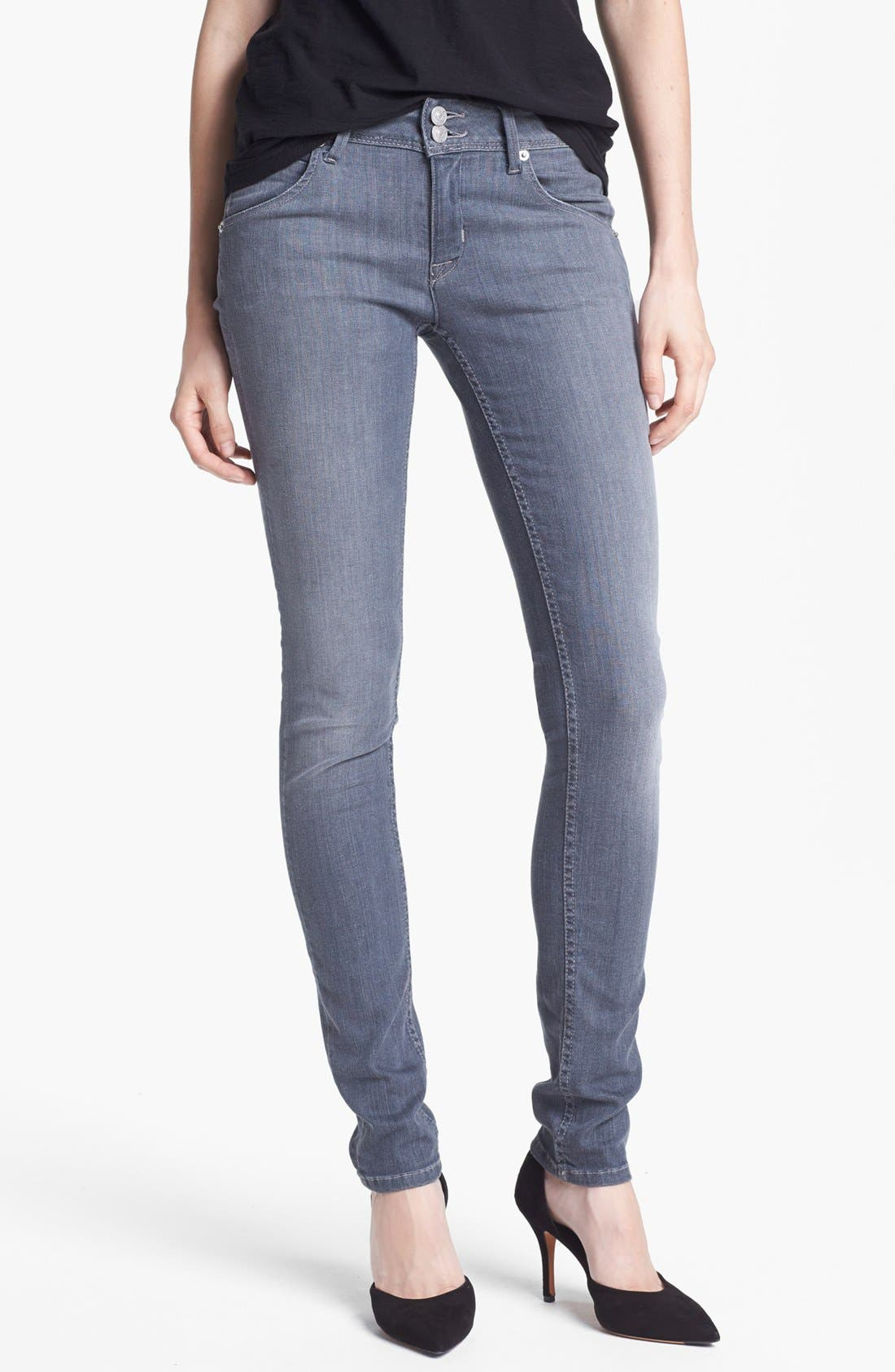Alternate Image 1 Selected - Hudson Jeans 'Collin' Skinny Jeans (New Romantics)