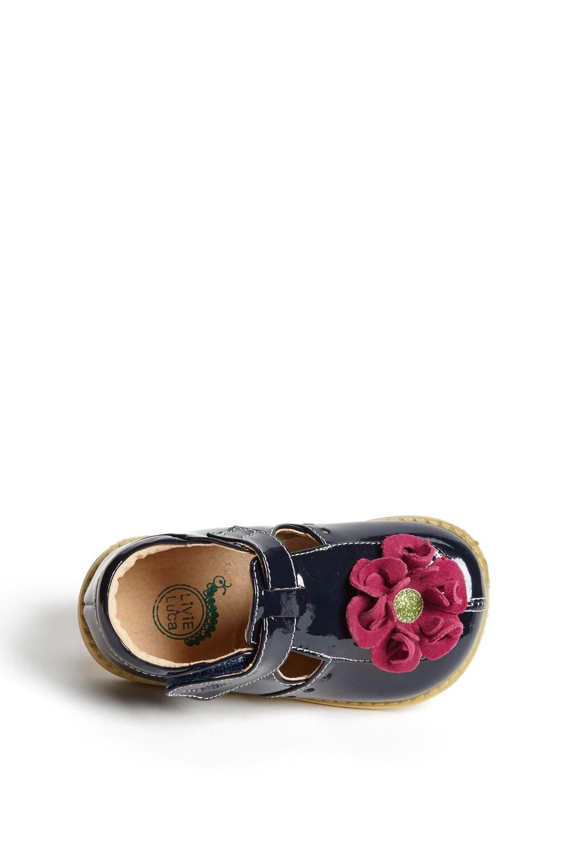 Alternate Image 3  - Livie & Luca 'Blossom' T-Strap (Baby, Walker & Toddler)