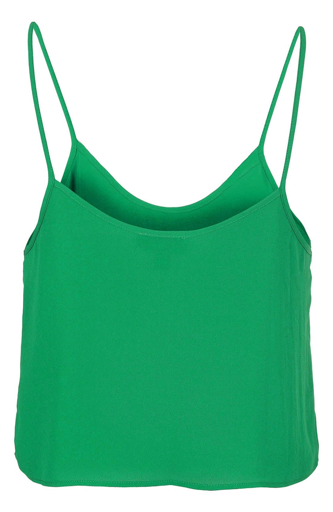 Alternate Image 2  - Topshop 'Pasha' Crop Camisole