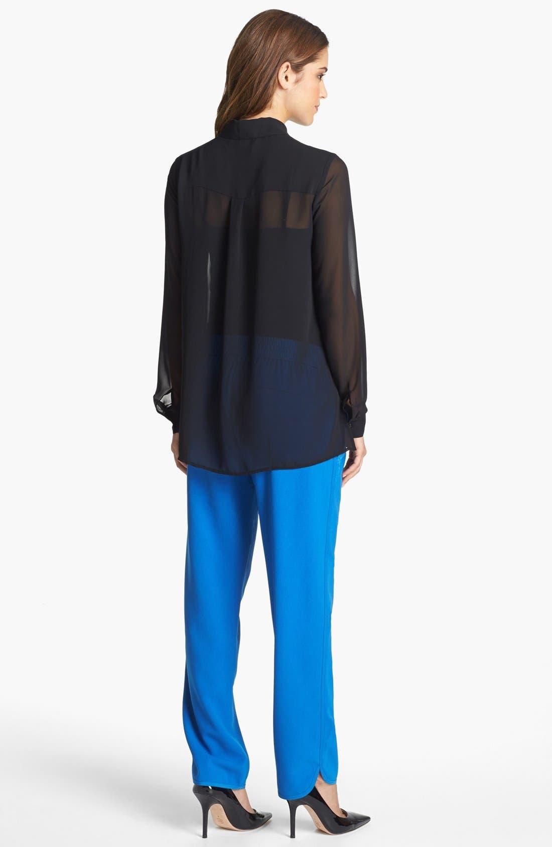 Alternate Image 3  - Kenneth Cole New York 'Farika' Side Zip Blouse