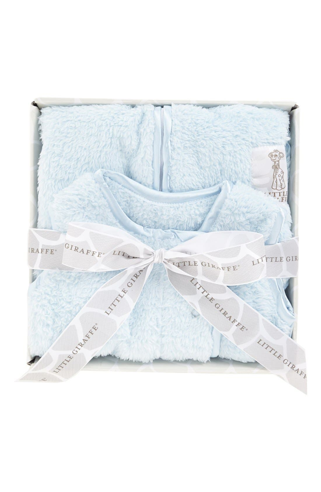 Dream Sack<sup>™</sup> Chenille Wearable Blanket,                             Alternate thumbnail 2, color,                             Blue