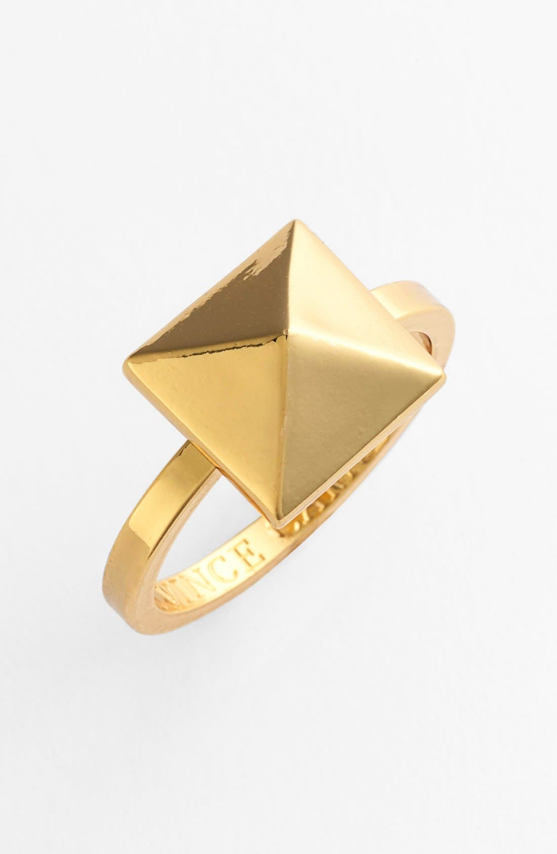 Alternate Image 1 Selected - Vince Camuto Pyramid Ring
