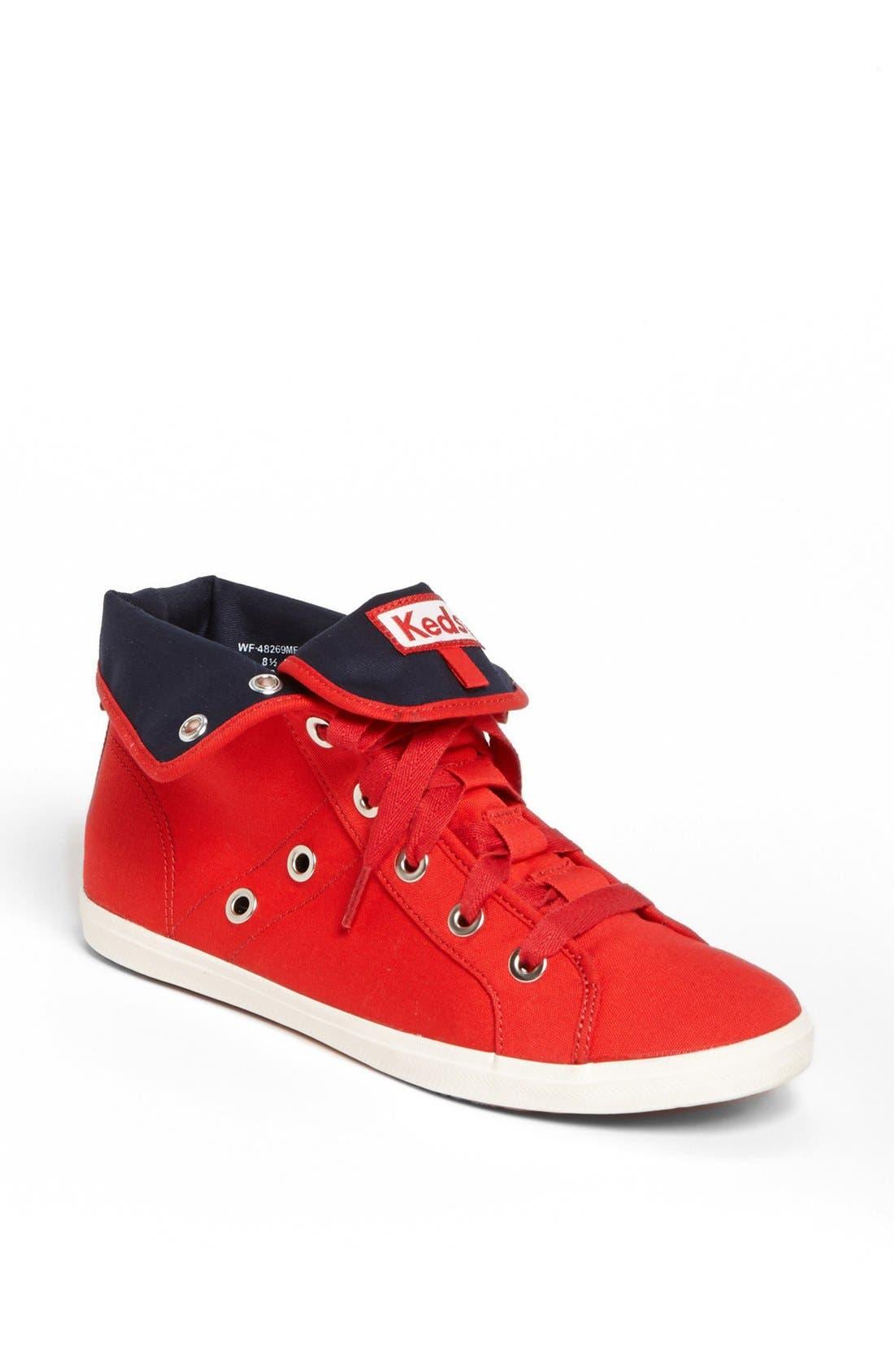 Alternate Image 1 Selected - Keds® 'Rookie - Loop-De-Loop' High Top Sneaker (Women)