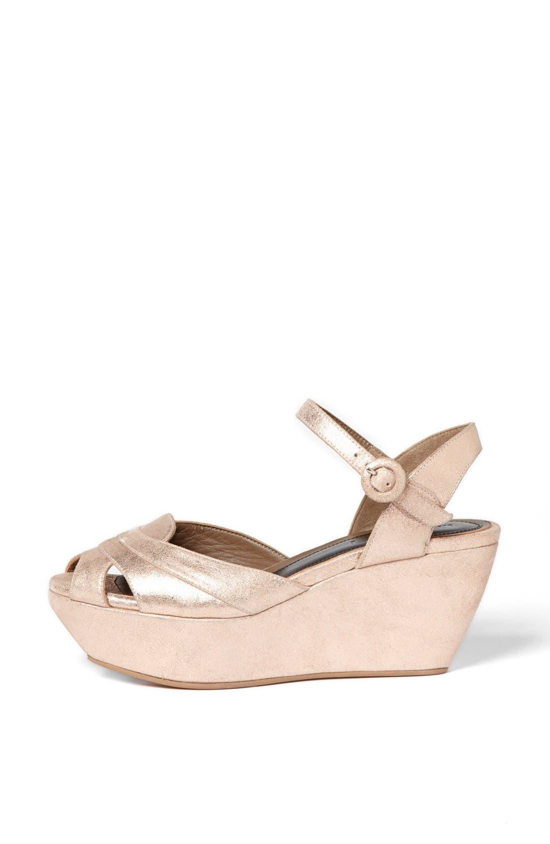 Alternate Image 4  - Marni Wedge Platform Sandal