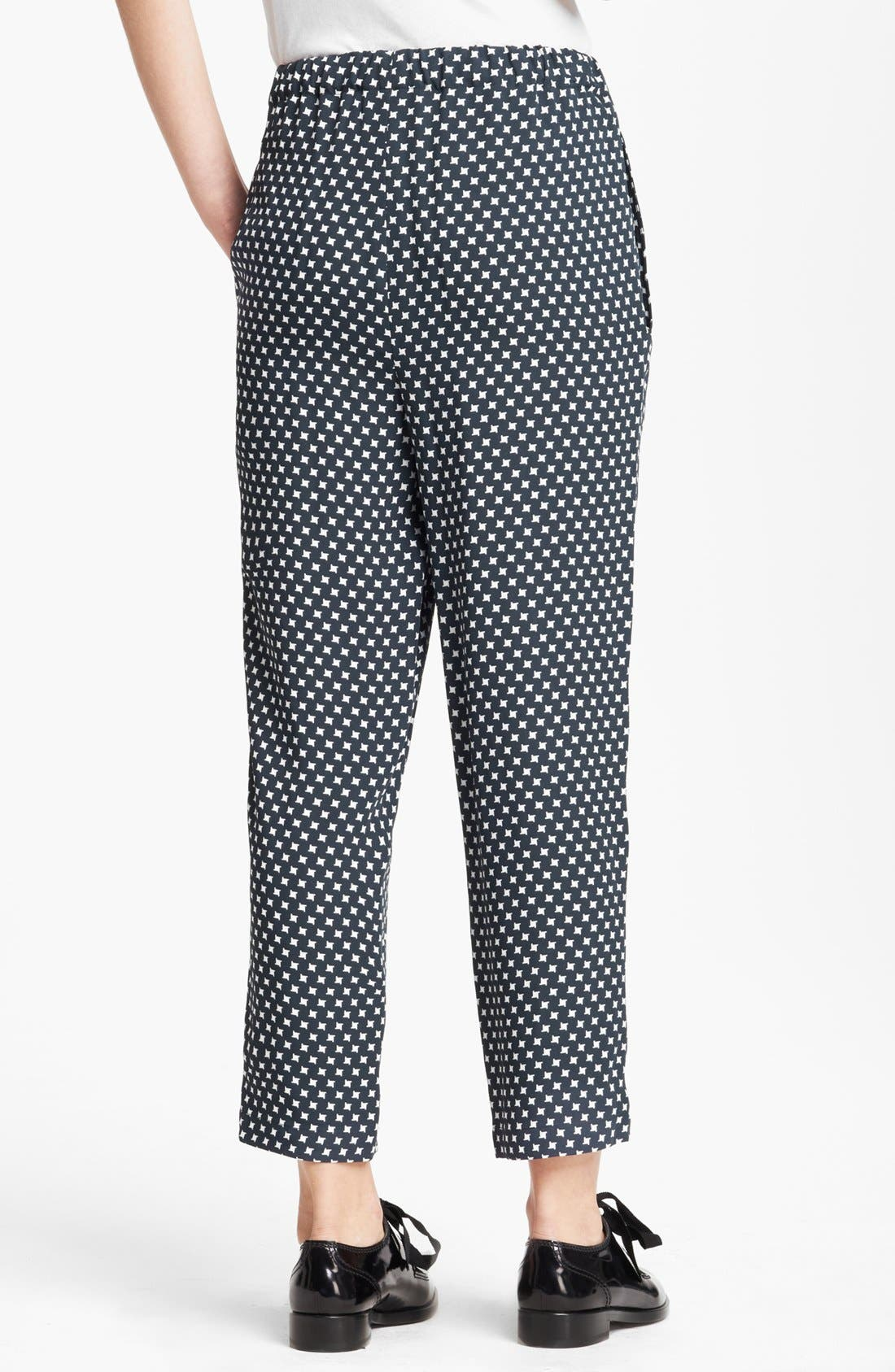 Alternate Image 2  - Marni Houndstooth Print Crop Pants