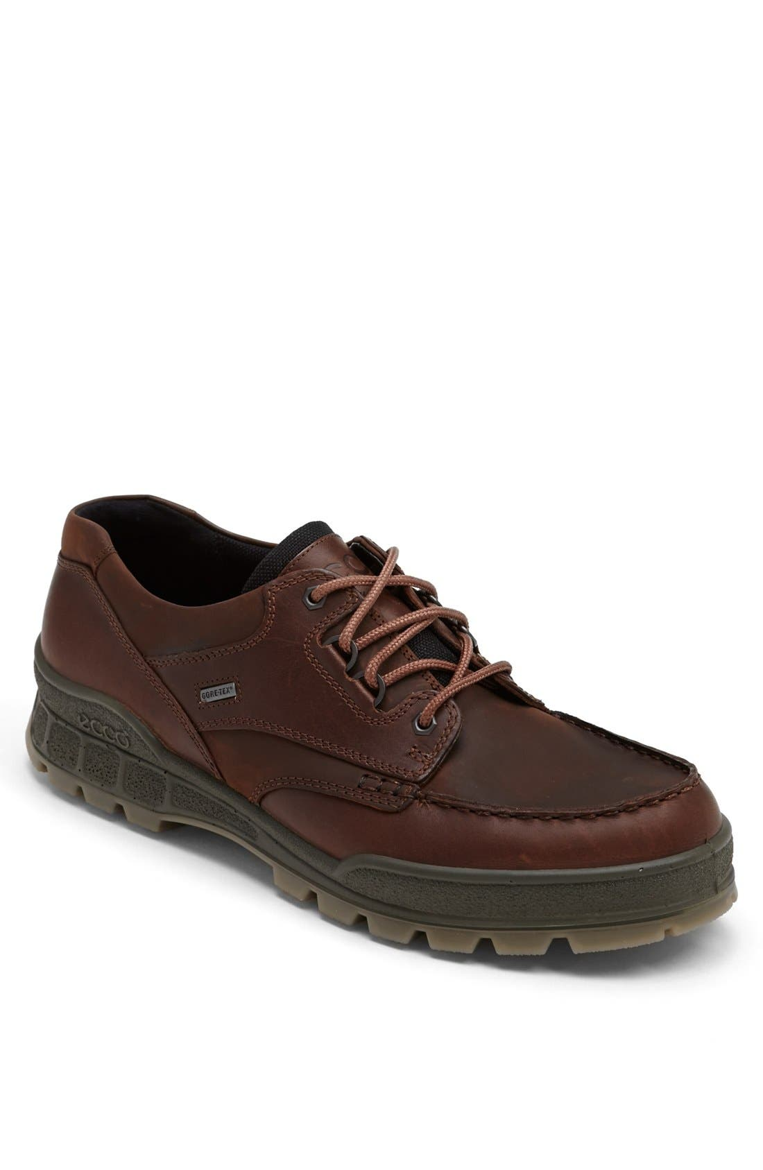 Main Image - ECCO 'Track II Moc Low' Oxford (Men). Black Leather swatch  image Brown ...