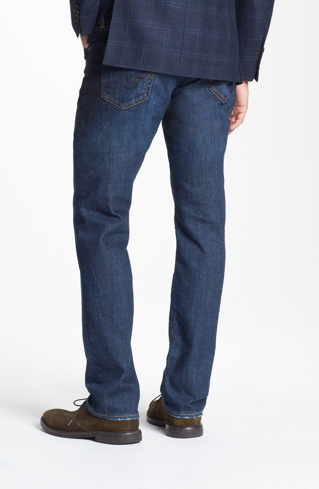 Alternate Image 2  - AG Graduate Slim Straight Leg Jeans (Robinson)
