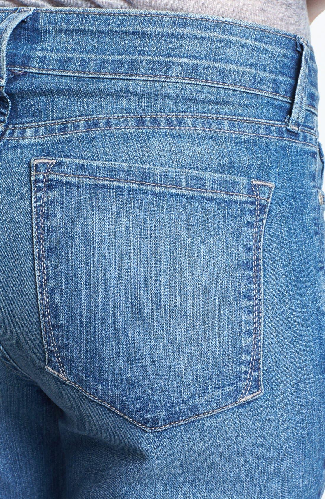 Alternate Image 3  - NYDJ 'Sheri' Stretch Skinny Jeans (Ontario) (Petite)