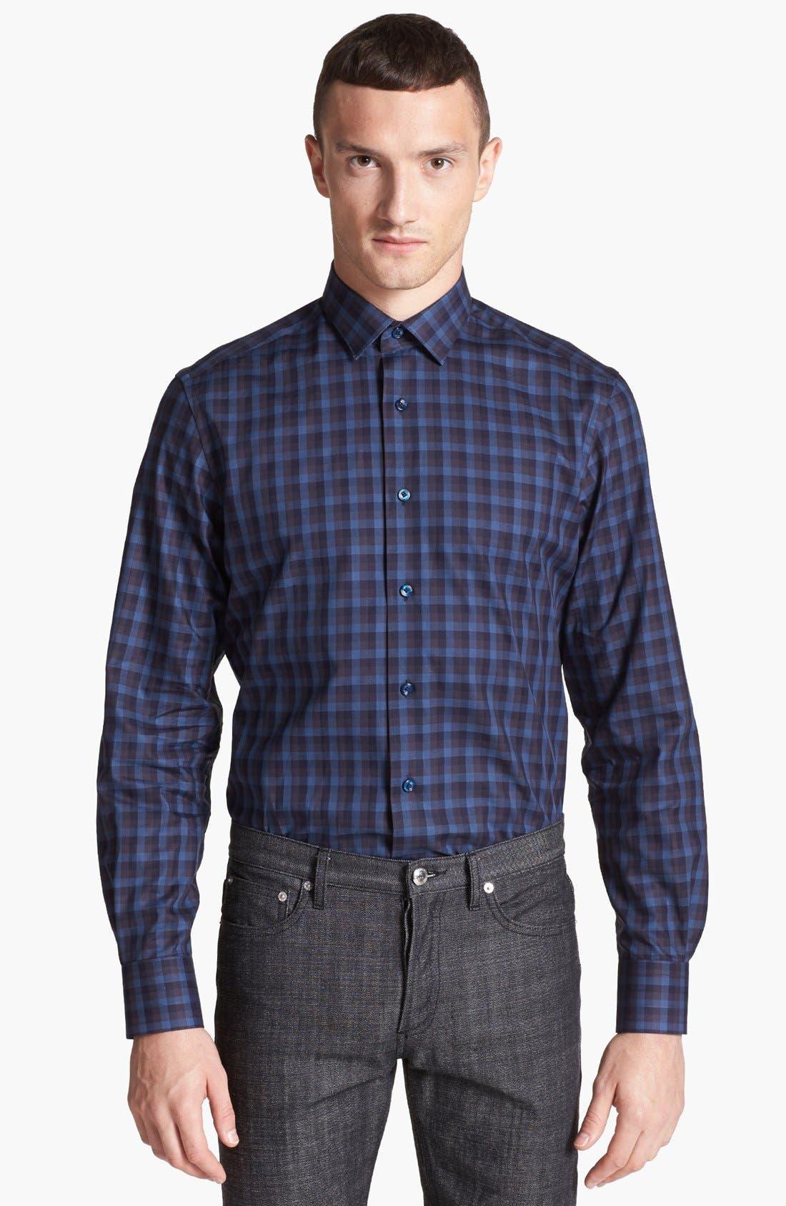 Main Image - Lanvin Check Dress Shirt
