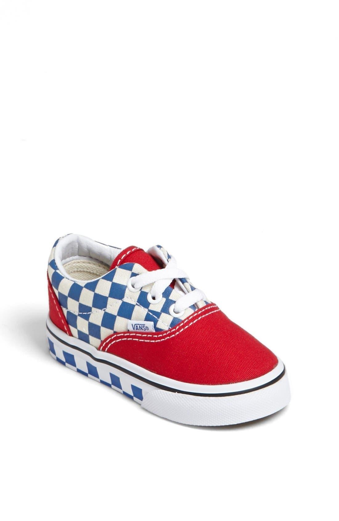 Alternate Image 1 Selected - Vans 'Era - Checkerboard' Sneaker (Baby, Walker & Toddler)