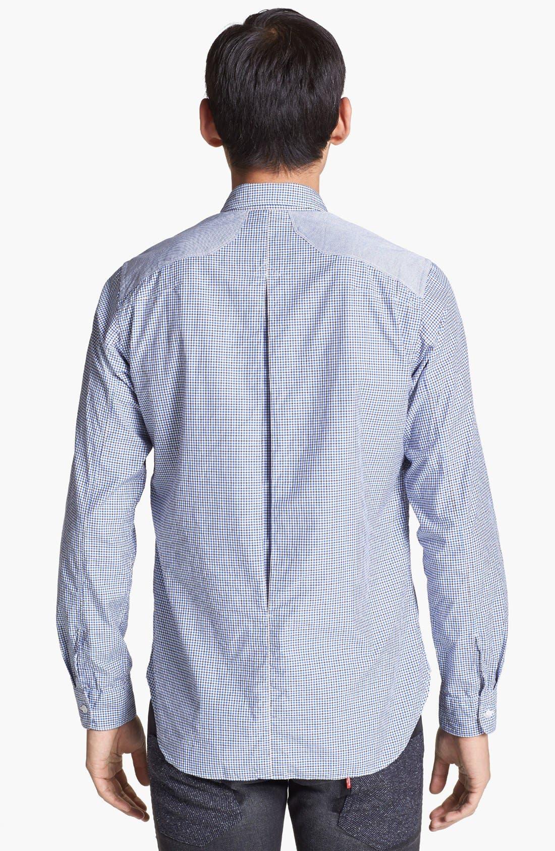 Alternate Image 2  - Junya Watanabe Check Cotton Shirt
