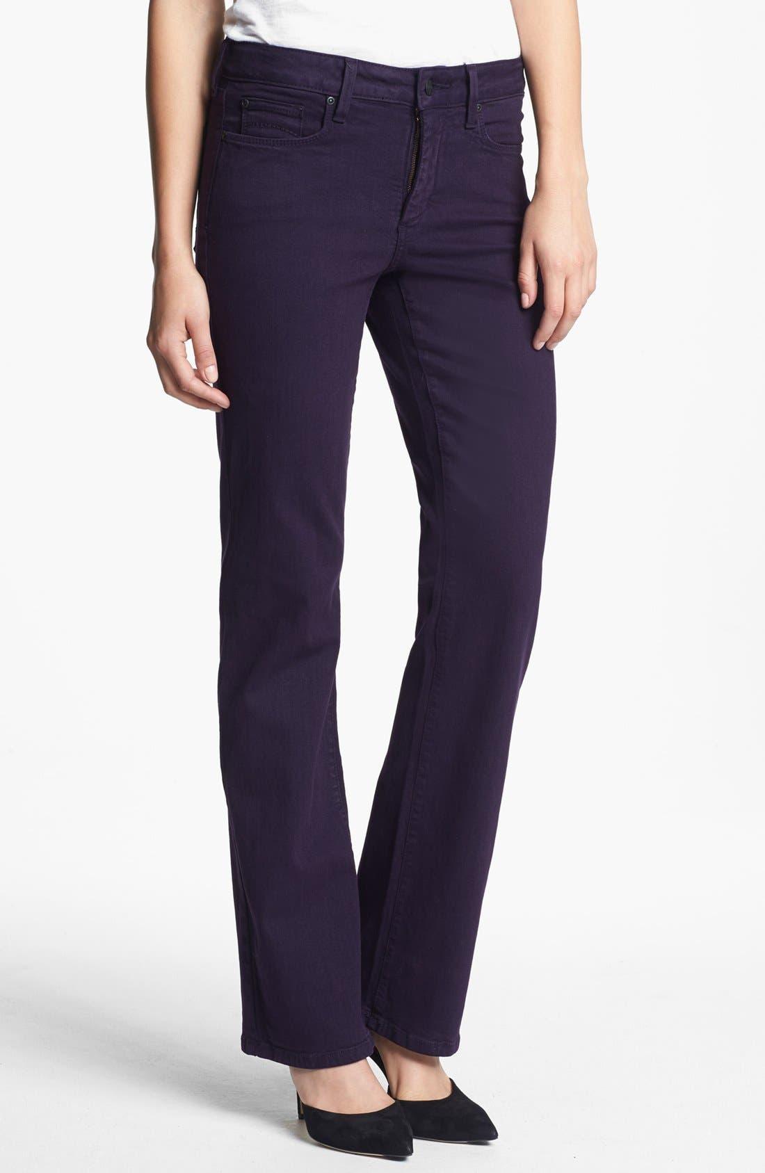 Main Image - NYDJ 'Barbara' Colored Stretch Bootcut Jeans