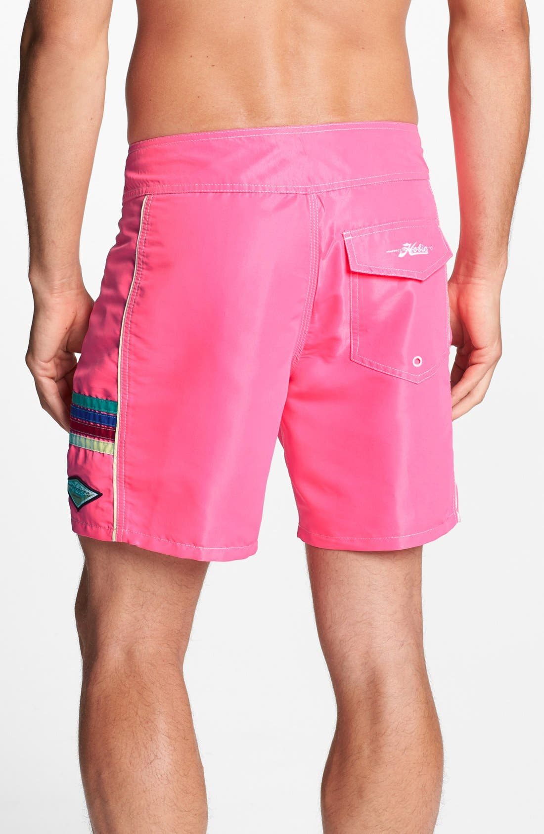Alternate Image 2  - Hobie 'Solid State' Board Shorts