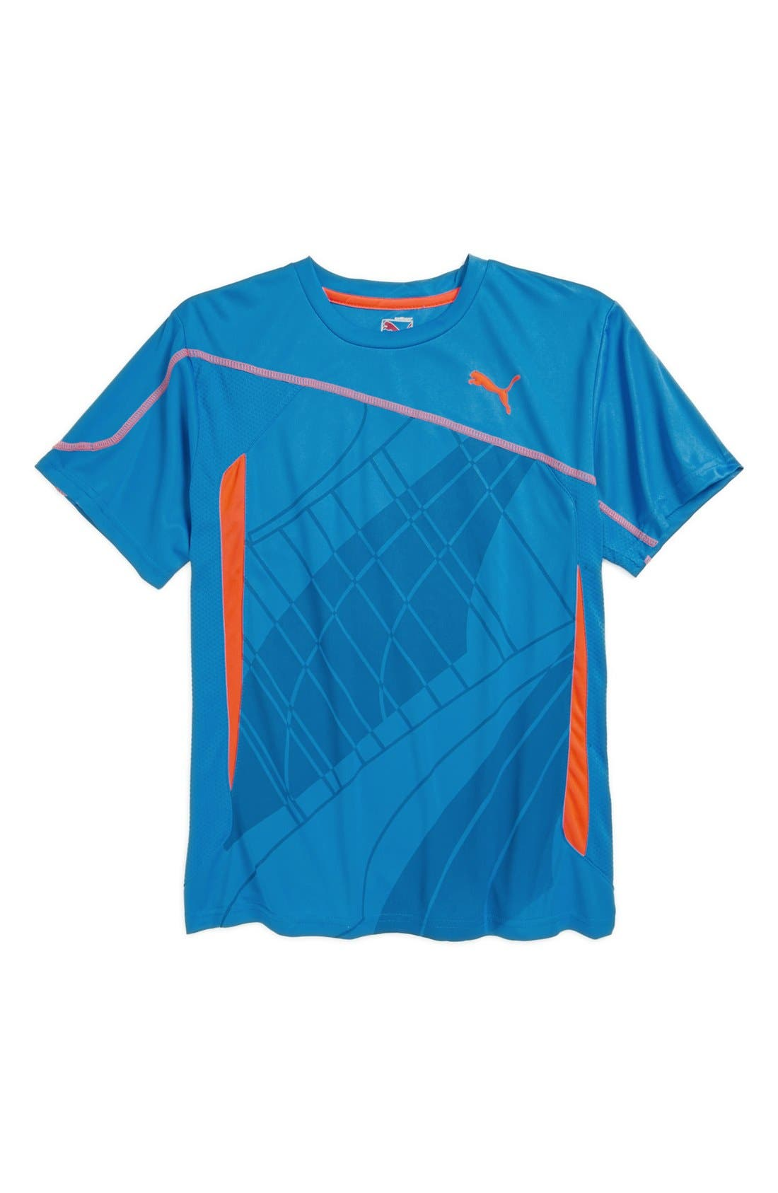 Alternate Image 1 Selected - PUMA 'Formstripe' T-Shirt (Big Boys)