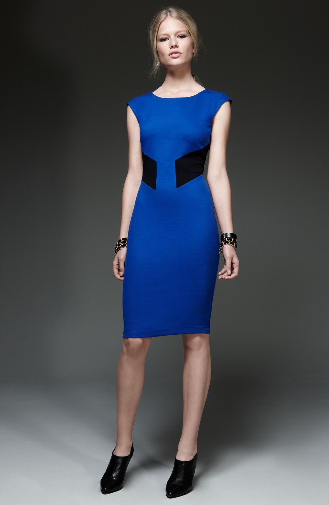 Alternate Image 4  - B44 Dressed by Bailey 44 'Biotech' Back Cutout Colorblock Sheath Dress