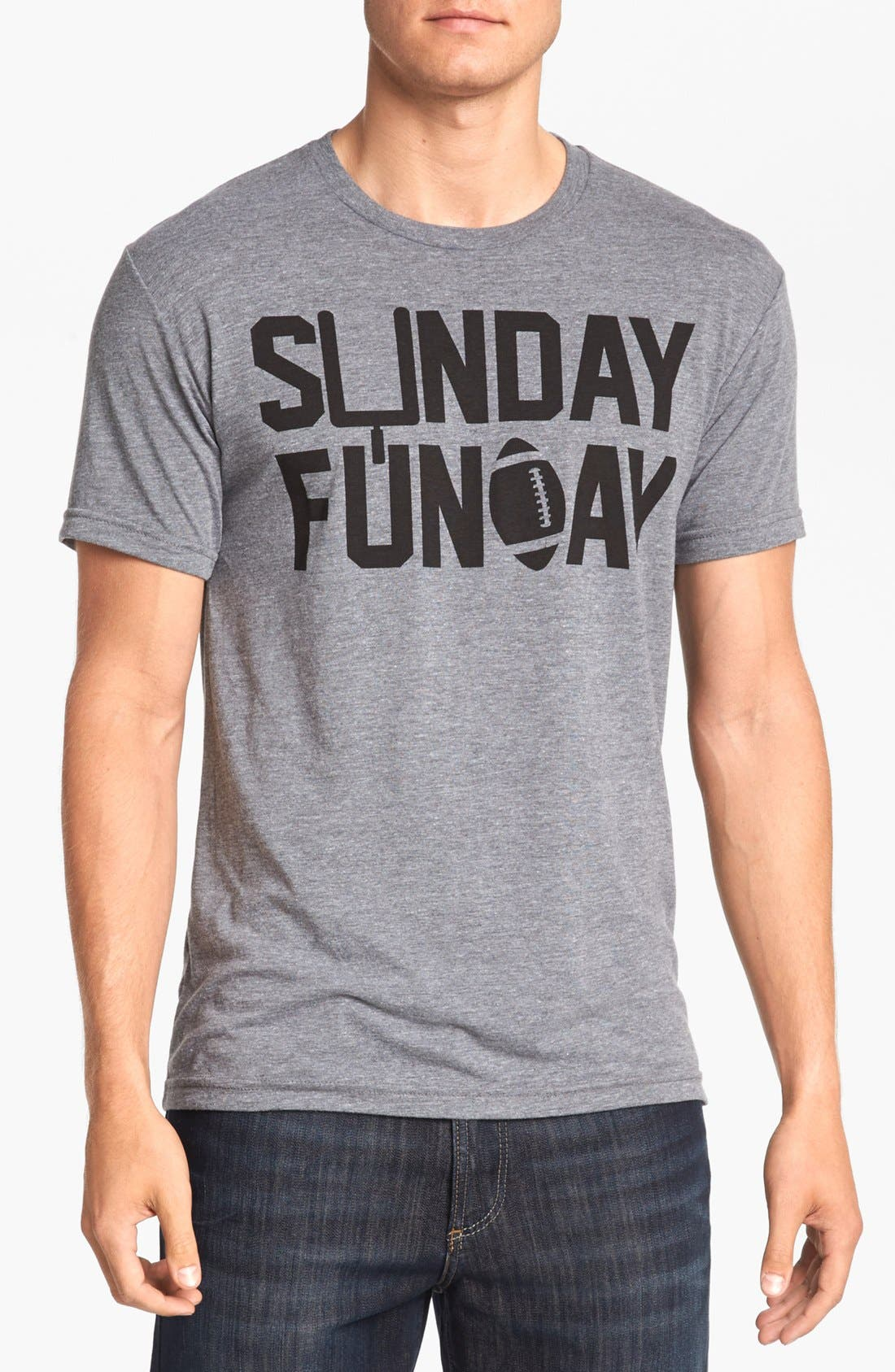 Alternate Image 1 Selected - Kid Dangerous Grime Couture 'Sunday Funday Football' T-Shirt