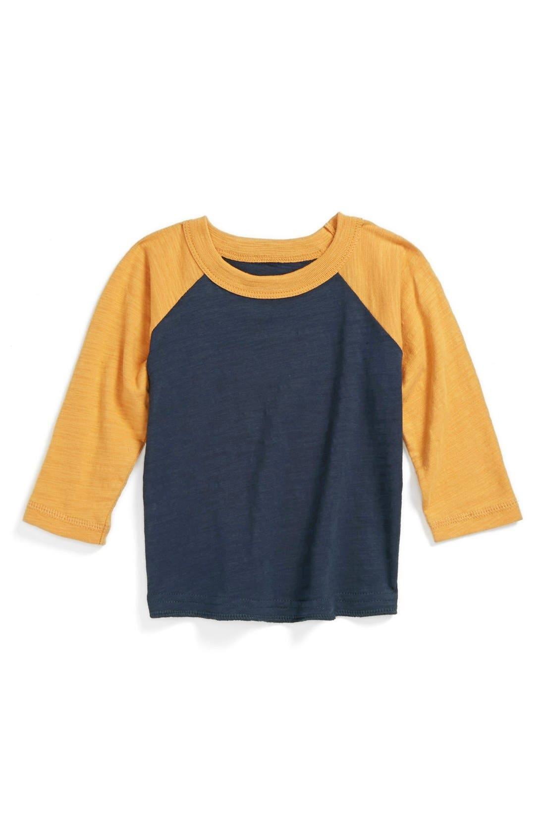 Alternate Image 1 Selected - Peek 'Field' Long Sleeve T-Shirt (Baby Boys)
