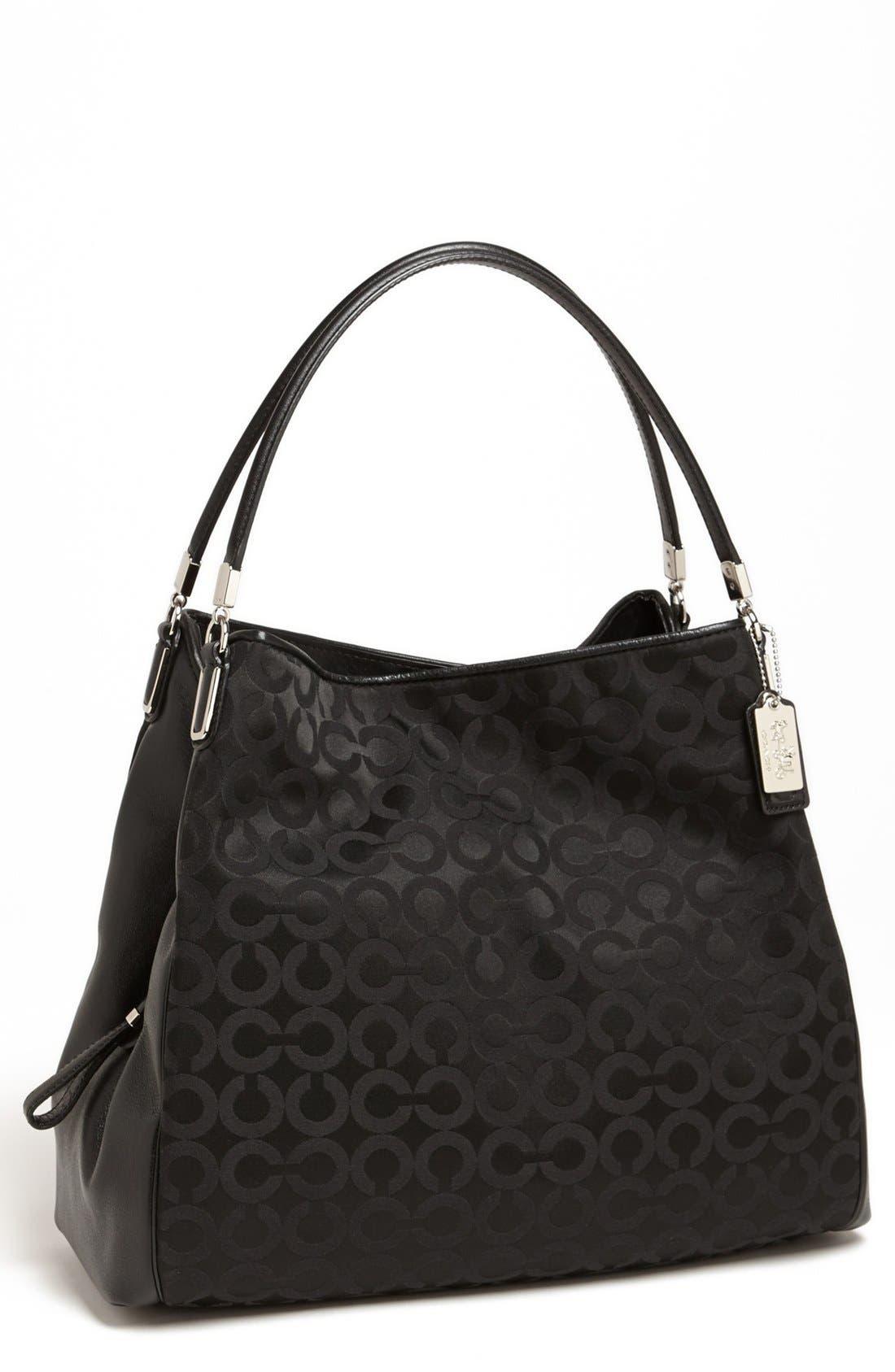 Main Image - COACH 'Madison - Phoebe' Leather Shoulder Bag