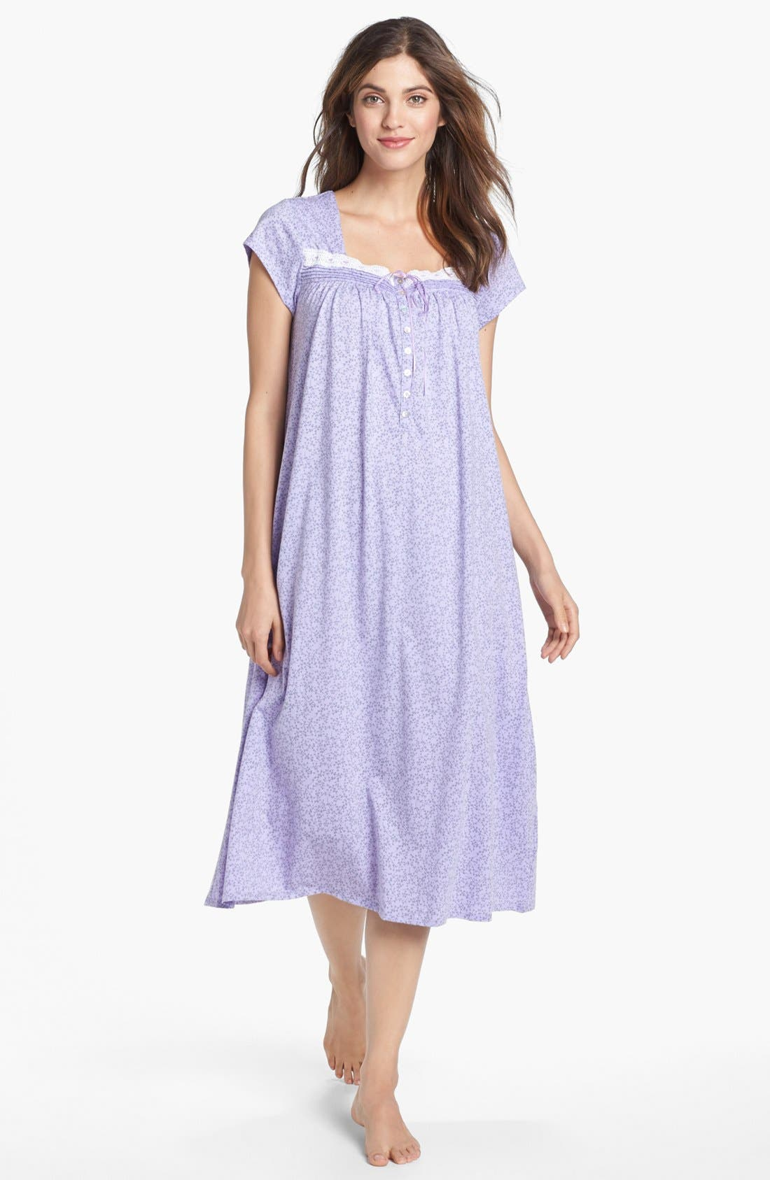 Alternate Image 1 Selected - Eileen West 'Flower Box' Nightgown