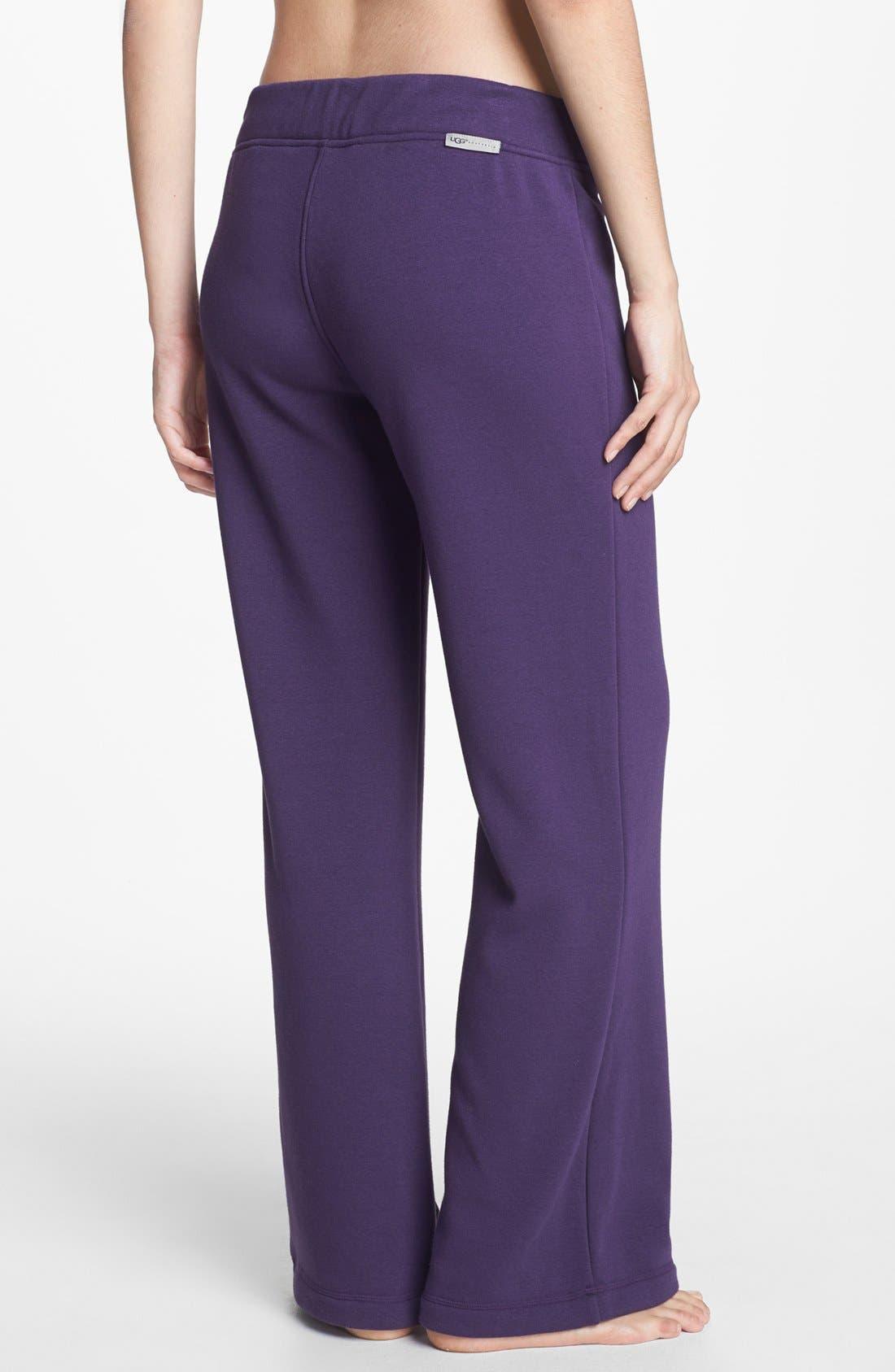 'Collins' Double Knit Pants,                             Alternate thumbnail 2, color,                             Purple Violet