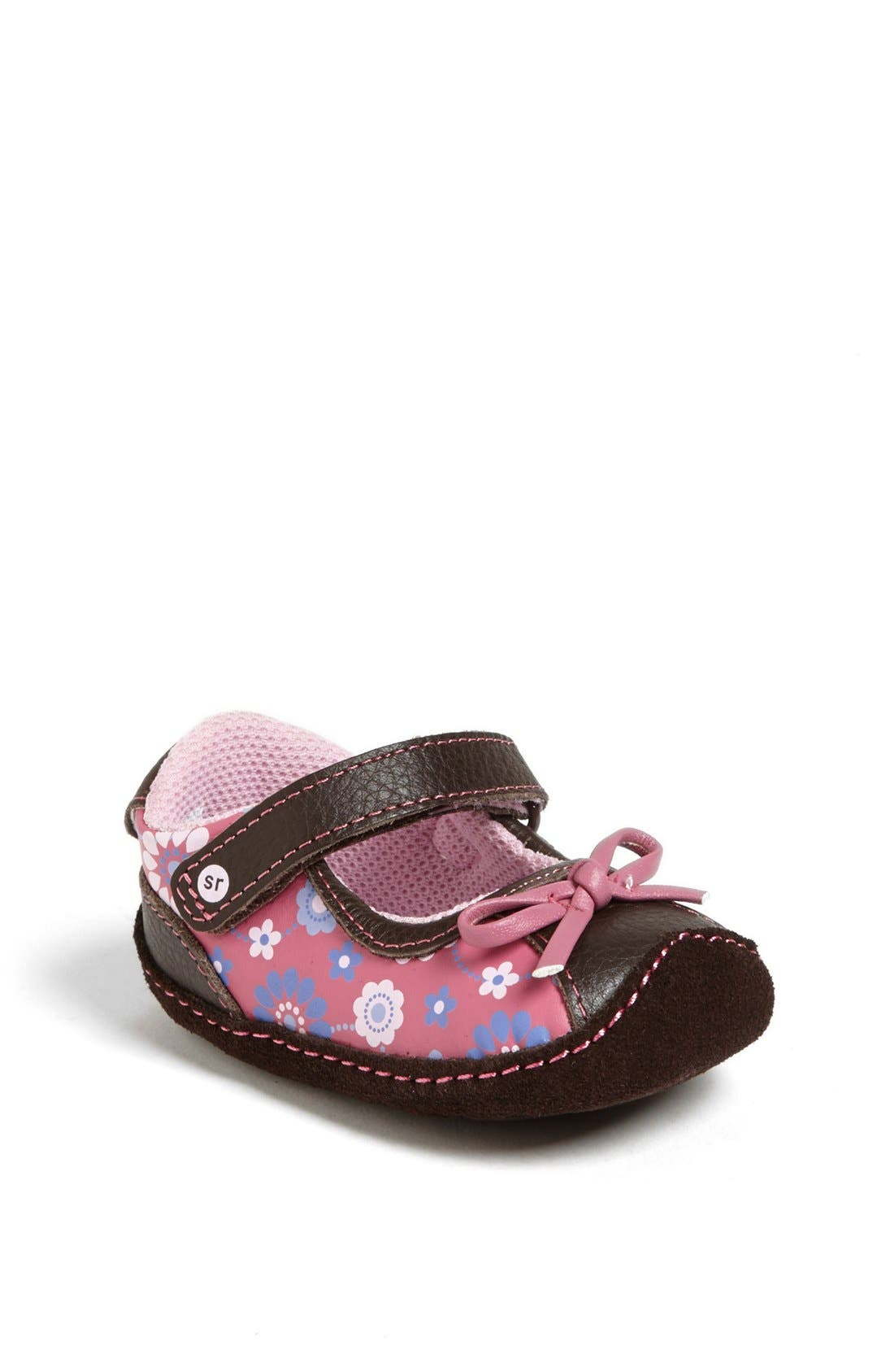 Alternate Image 1 Selected - Stride Rite 'Crawl - Dazzling Donna' Mary Jane (Baby Girls)